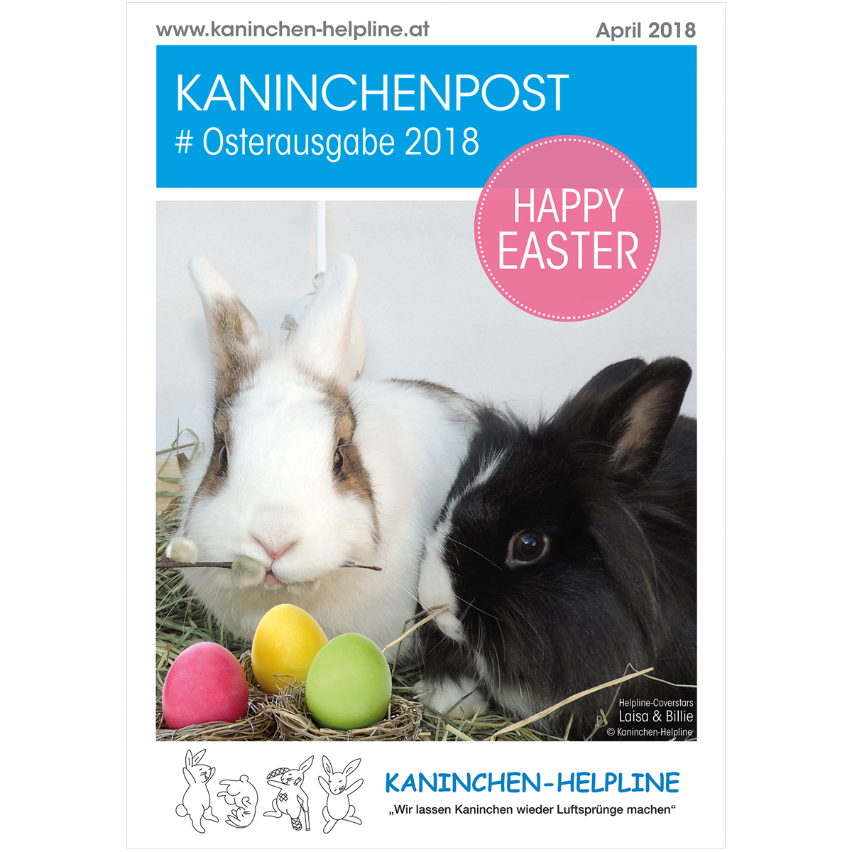 Cover Osterpost 2018 Website